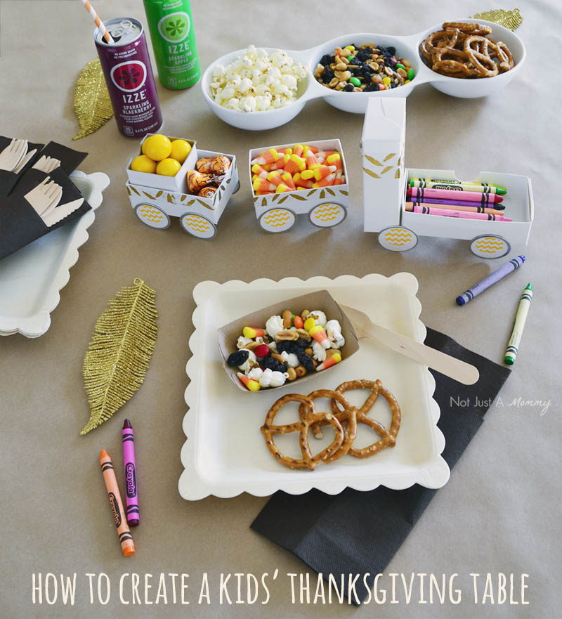 How to create a Thanksgiving Treat Train
