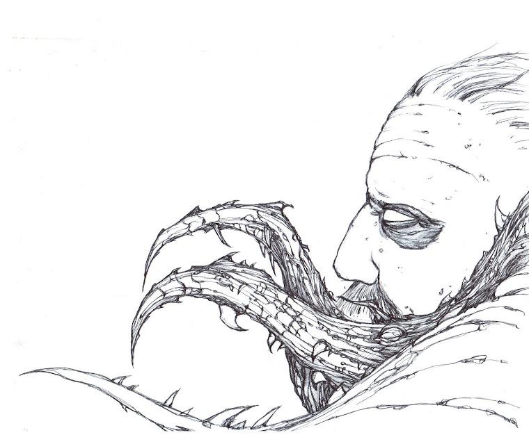 Dead Space boceto. 3
