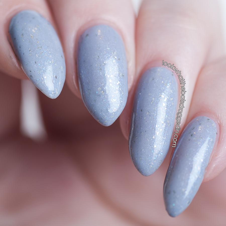 Moonstone Nail Polish swatch Grey Lady