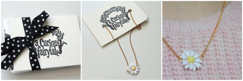 Review: A Curious Fairytale Daisy Necklace