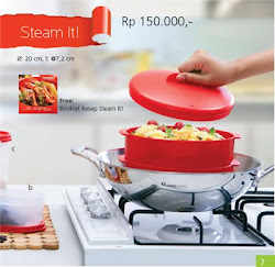 Katalog Promo Tupperware Juni 2013 - Steam It!