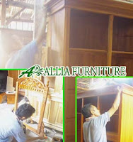 Proses Finishing Furniture Politur Warna