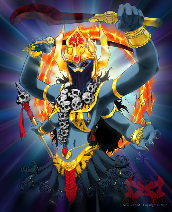 Kali Comic Book