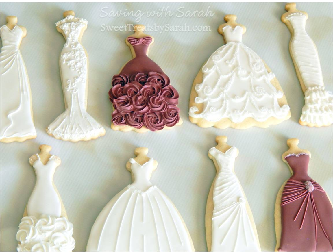 Saving with sarah what 39 s your dress style for Wedding dress cookie cutters