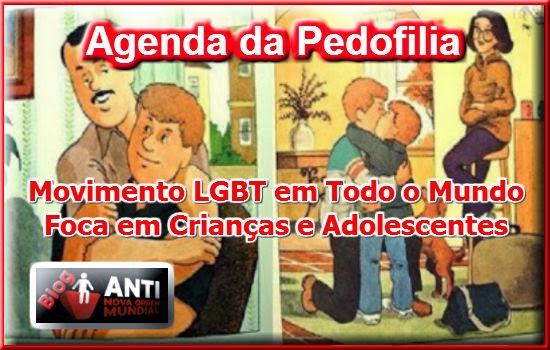 Fabuloso Agenda da Pedofilia: Movimento LGBT em Todo o Mundo Foca em  VW63