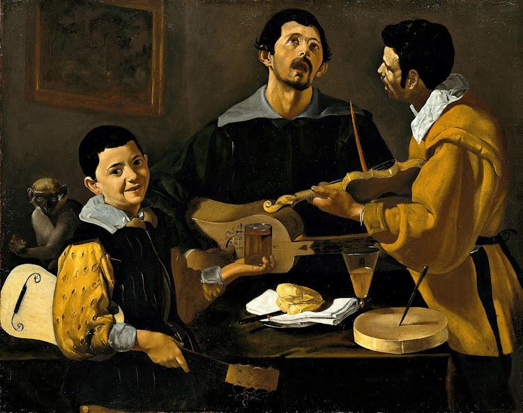 Diego Velázquez - Three Musicians (1616)