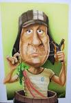 """Caricaturisa.... ROBERTO GOMEZ BOLAÑOS """"CHESPIRITO"""" COMO: """"EL CHAVO DEL OCHO"""""""