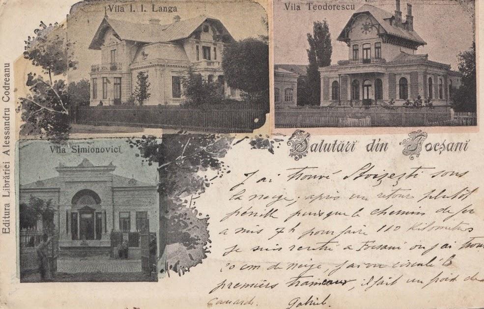Vila I.I. Langa, Vila Teodorescu si Vila Simionovici