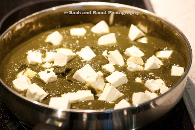 Add the paneer