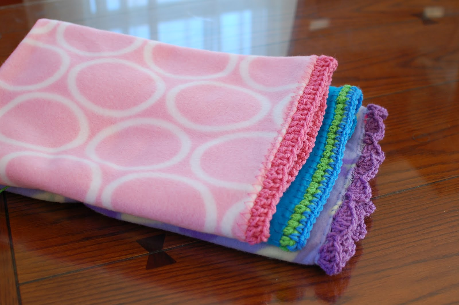 Quick And Easy Crocheted Blanket Edging Patterns