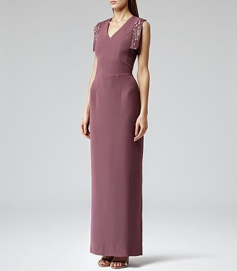 Purple Reiss Dress - Affordable Purple Wedding Dresses