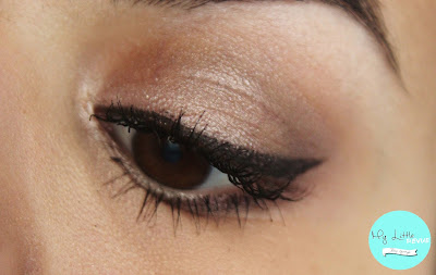 Maquillage avec la Naked Smoky