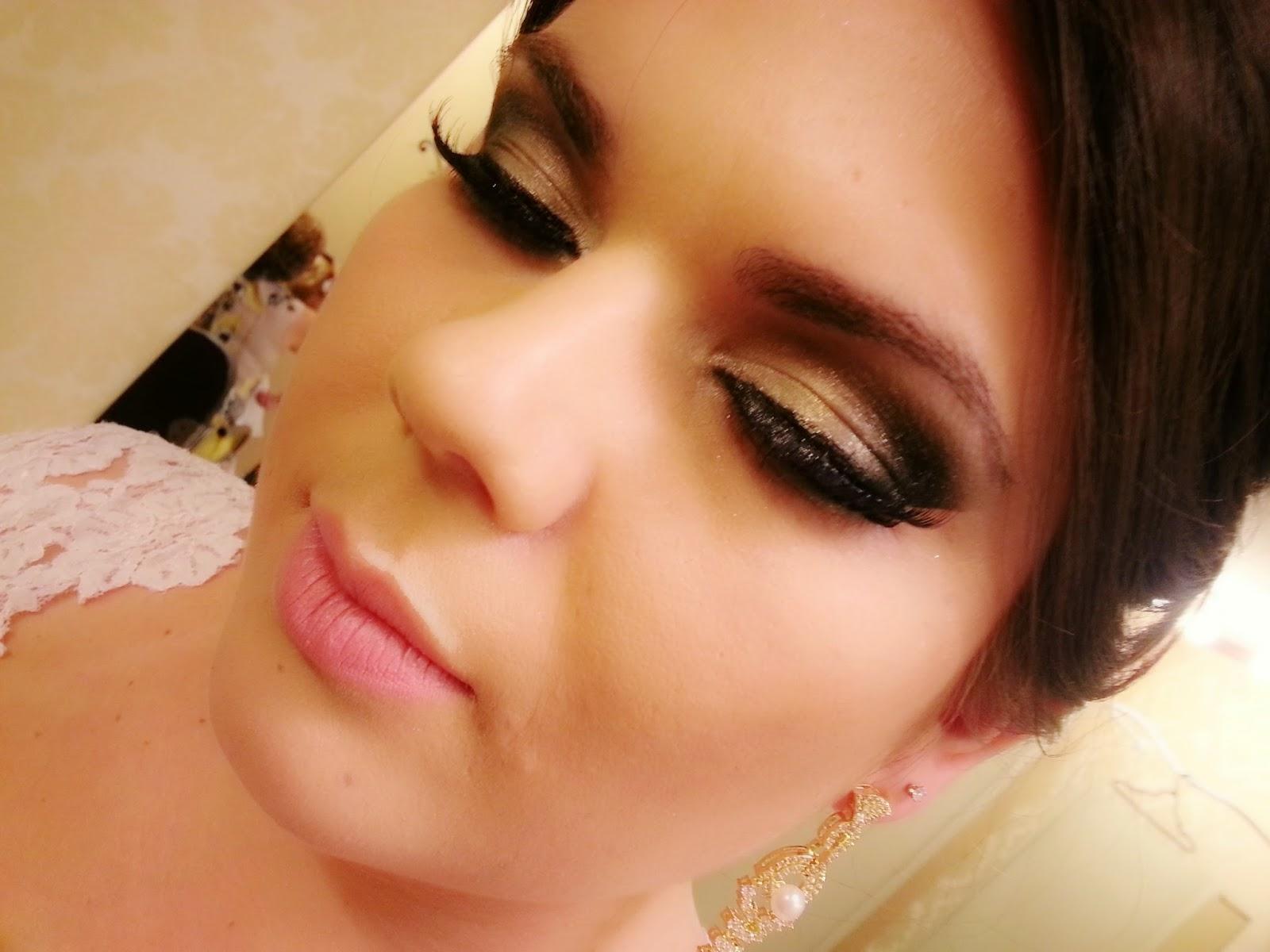 maquiagem de noiva rib preto