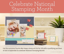 SEPTEMBER IS NATIONAL STAMPING MONTH! Special