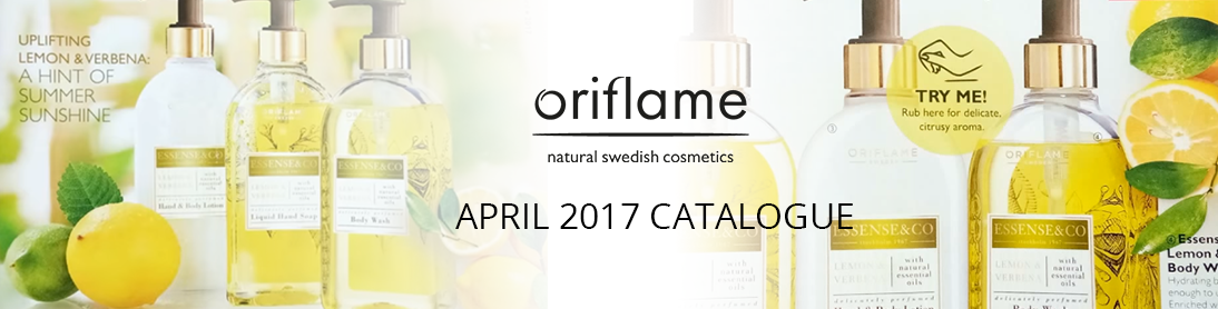 Oriflame April 2017 Catalogue