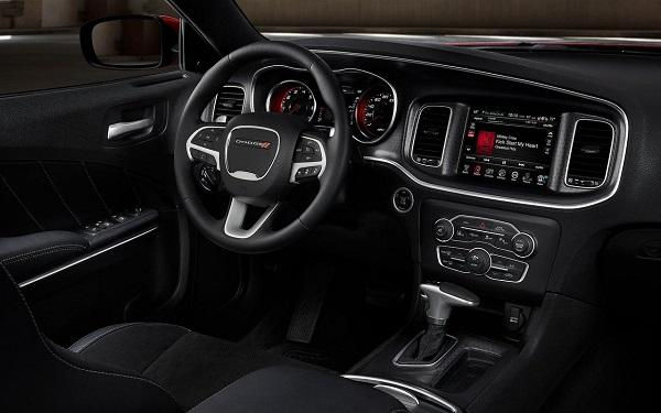 2016 Dodge Charger Dashboard