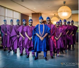 Banky W and his grooms men