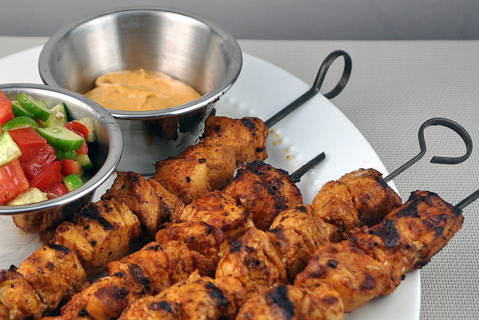 Impeccable Taste: Harissa Chicken Kabobs