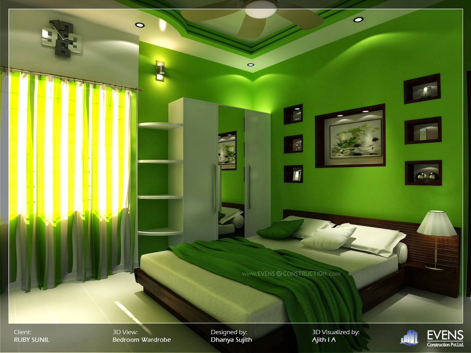 dark green bedrooms bedroom in green
