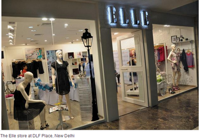 Elle store at DLF place, New Delhi