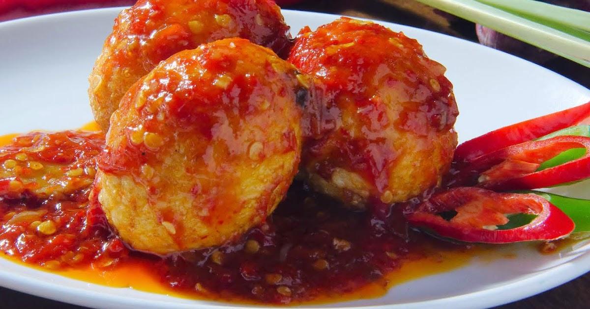 Resep Membuat Sambal Telur Bulat Cabe Merah Sederhana ...