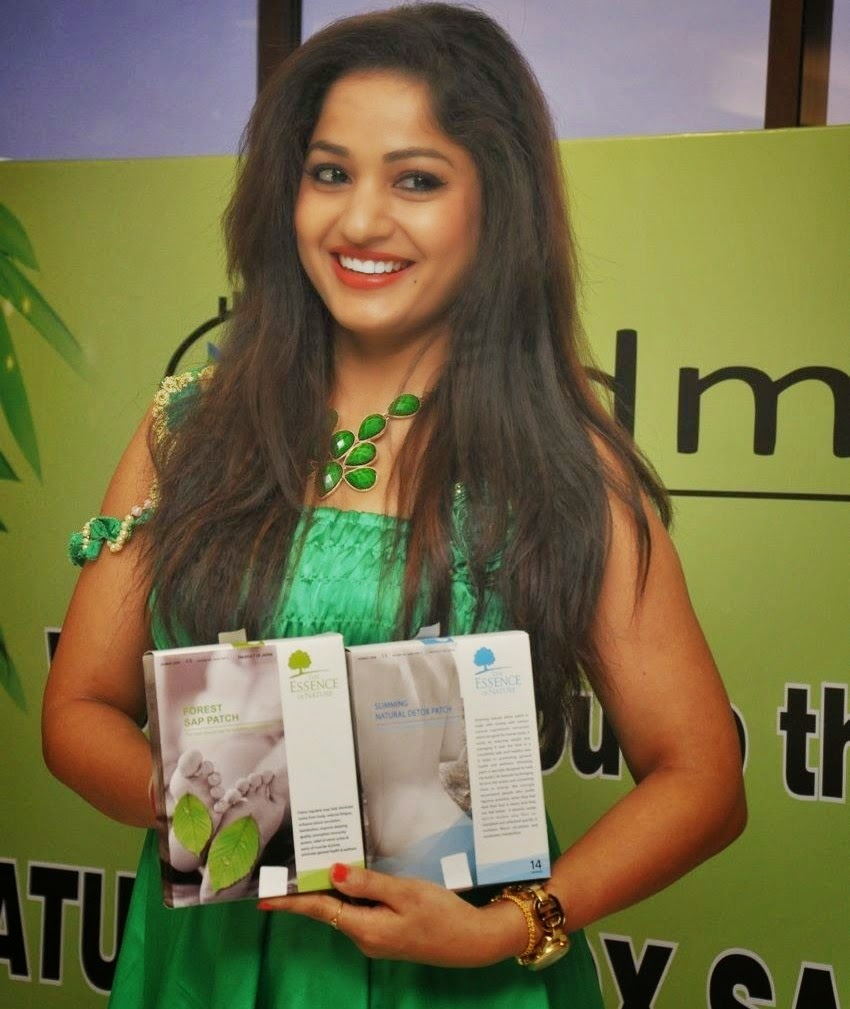 Madhavi Latha at Natural Detox SAP Launch Stills
