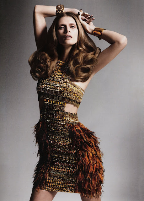 EdelScope: The Modern Muse - Malgosia Bela in Muse Spring'11 :  fashion fashion art