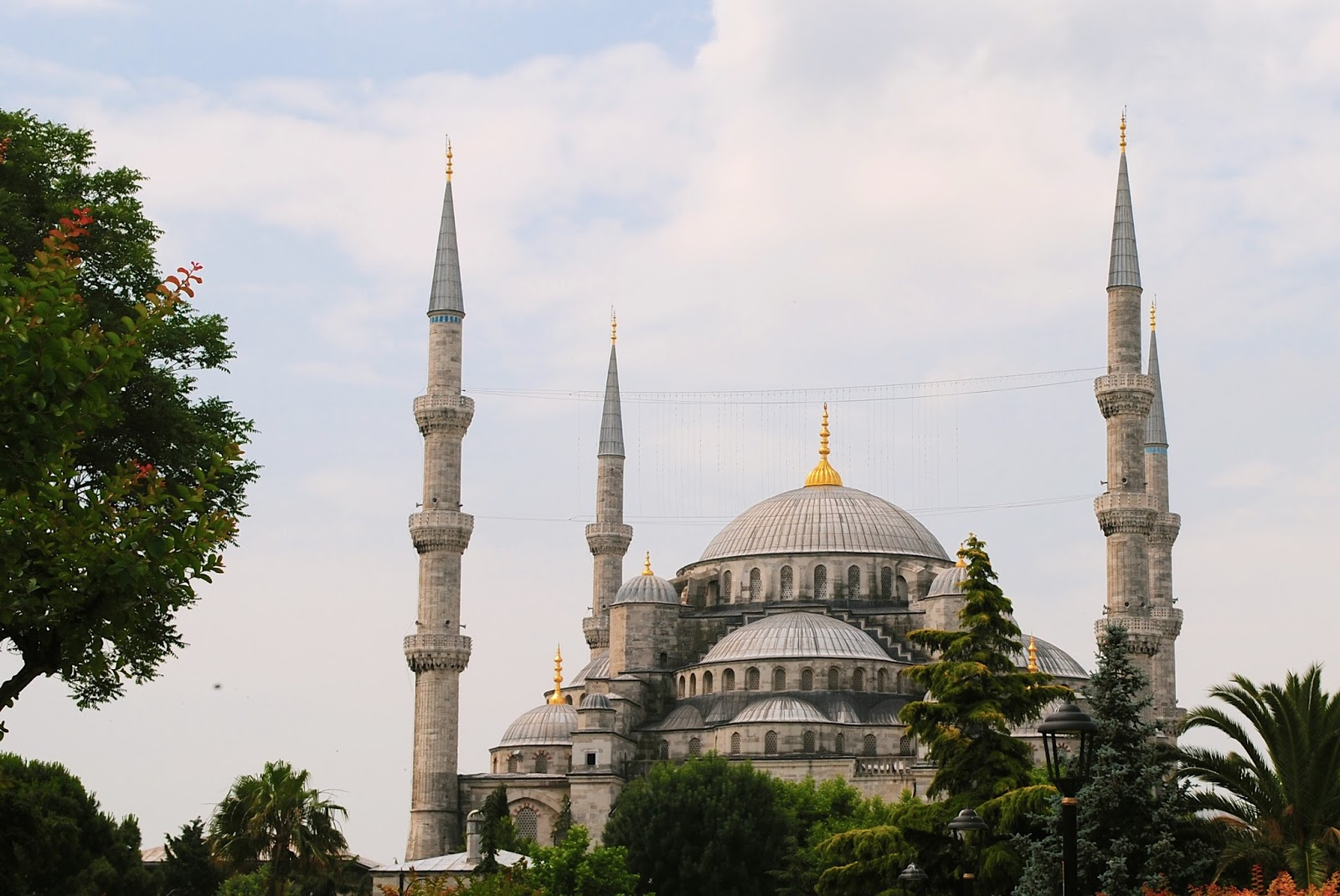 Visit the Blue Mosque in Istanbul