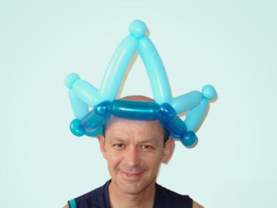 Как сделать шлем из шарика