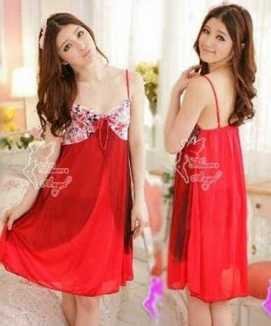 Baju Tidur Cantik SL934 Red