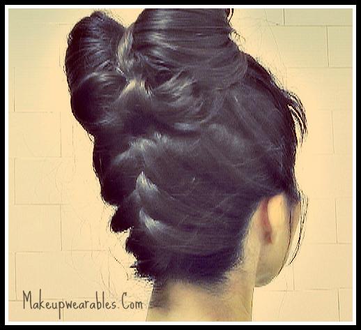 Cute, Hair Bow Hairstyles with Upside Down Braid | Hair Tutorial Video