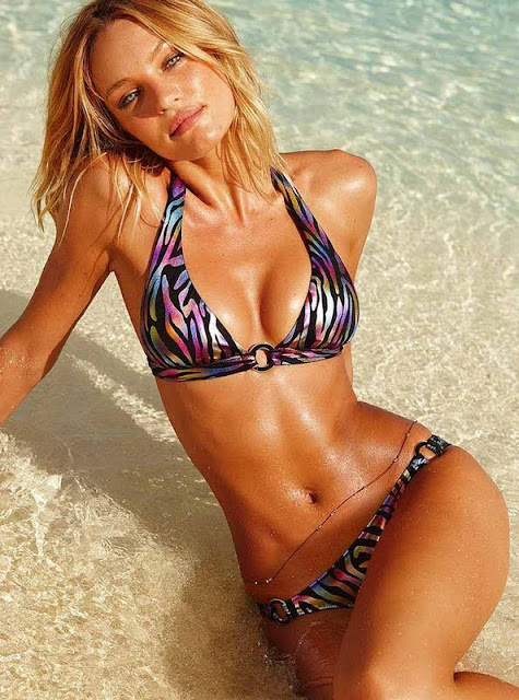 Candice Swanepoel – Victoria's Secret Bikini Photoshoot