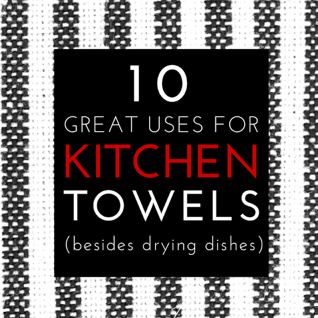 Those humble kitchen towels can be your best secret to great meals and do so much more than drying dishes! Grab them now for your easiest meal prep and much tastier recipes with these tips.! (The Health-Minded.com) #health #cooking