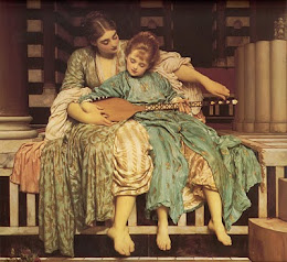 Lord Frederick Leighton (1830-1896) - Music lesson