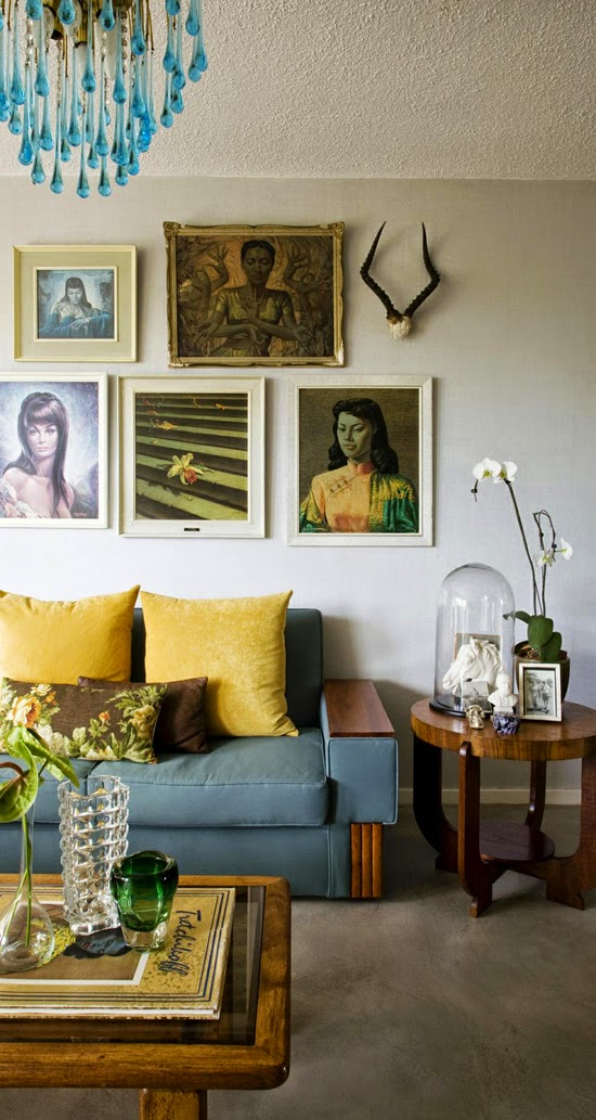 Safari Fusion blog | Tretchikoff [part 2] | Beautiful Sandhurst (Johannesburg) apartment featuring a collection of Tretchikoff prints | Lady from Orient & Miss Wong | Interiors by Anatomy Design