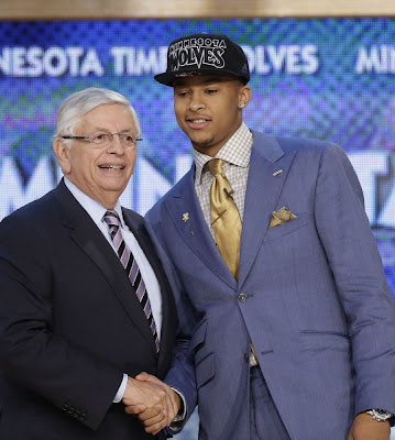 Trey Burke at the 2013 NBA Draft