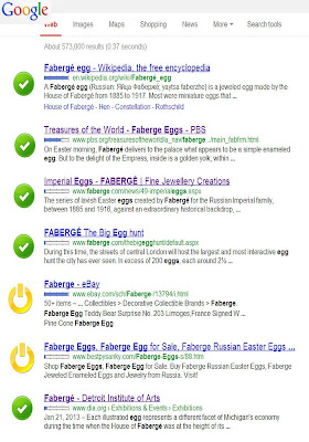 Google search for faberge egg