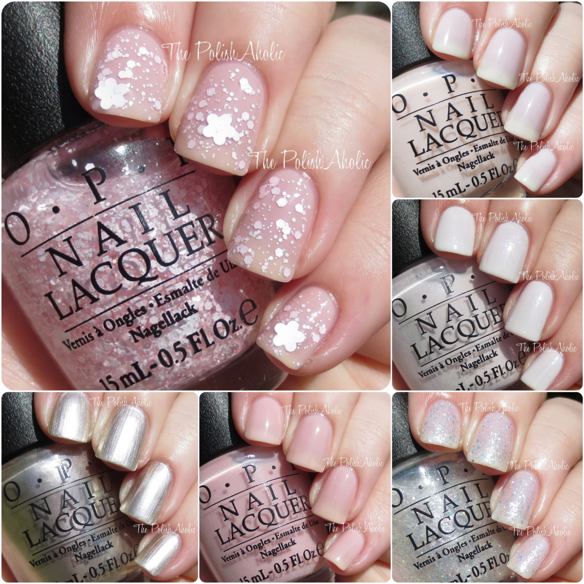 The PolishAholic: OPI 2015 Soft Shades Collection Swatches & Review