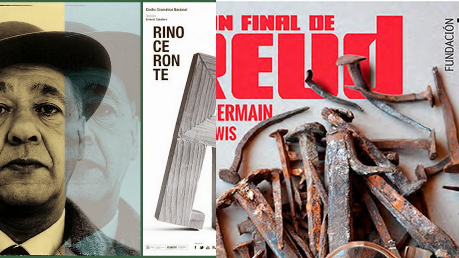 Ionesco, Freud, Ernesto Caballero