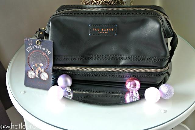 Ted Baker Mens Wash Bag Flamingo Gifts