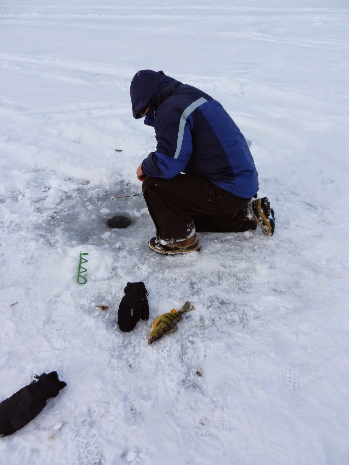 Fishing hunting in oswego county ny sandy pond on ice for Ice fishing ny