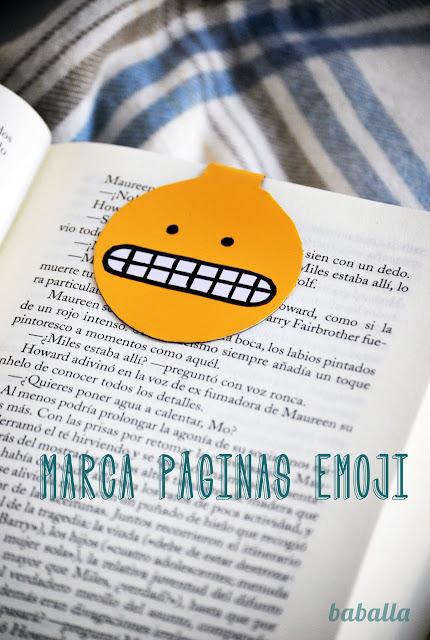 marca páginas emoji