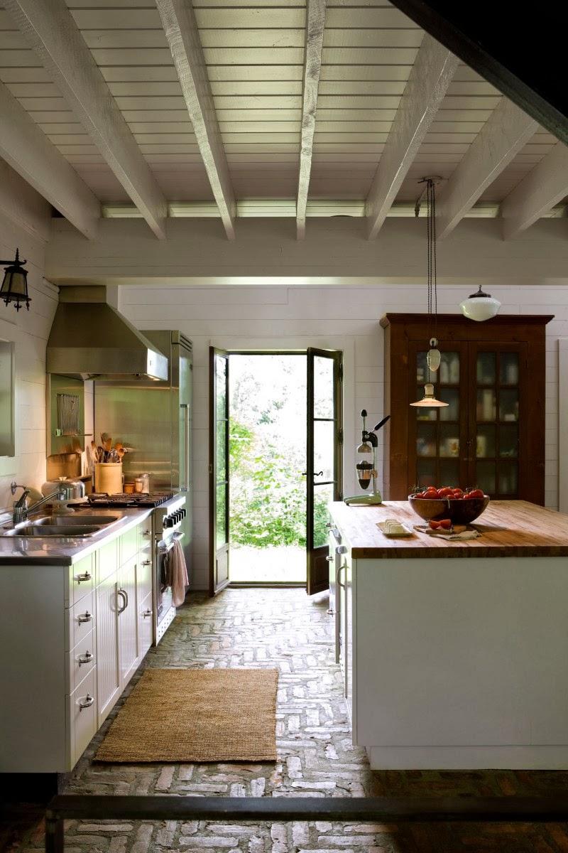 Hogares frescos dise o interior con un toque r stico y for Disenos de interiores rusticos