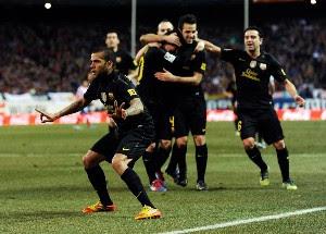 Resultado Atlético de Madrid Vs Barcelona ()