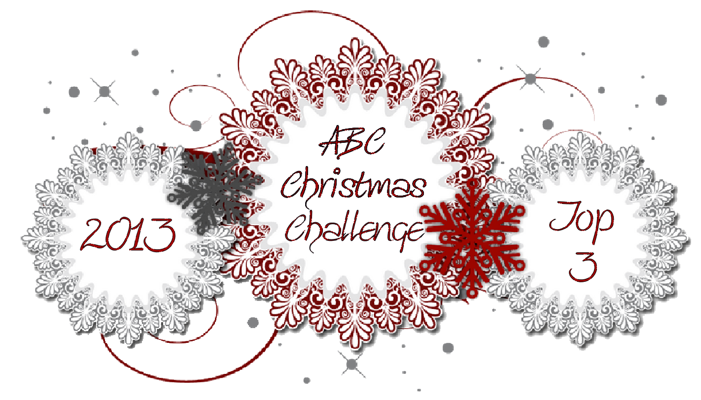 I Made Top 3 at ABC Christmas Challenges - Feb 2014