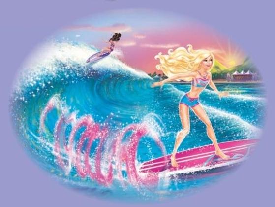 Desenho de uma Barbie sereia para colorir Hello Kids - imagens para colorir da barbie em vida de sereia