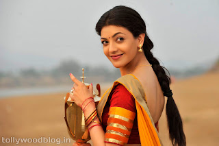 kajal so cute in veera