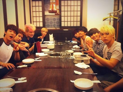 Super Junior  Makan malam menang  'Music Bank'