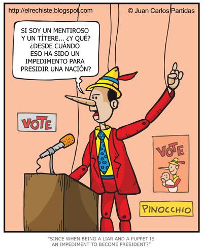 Pinocchio candidato