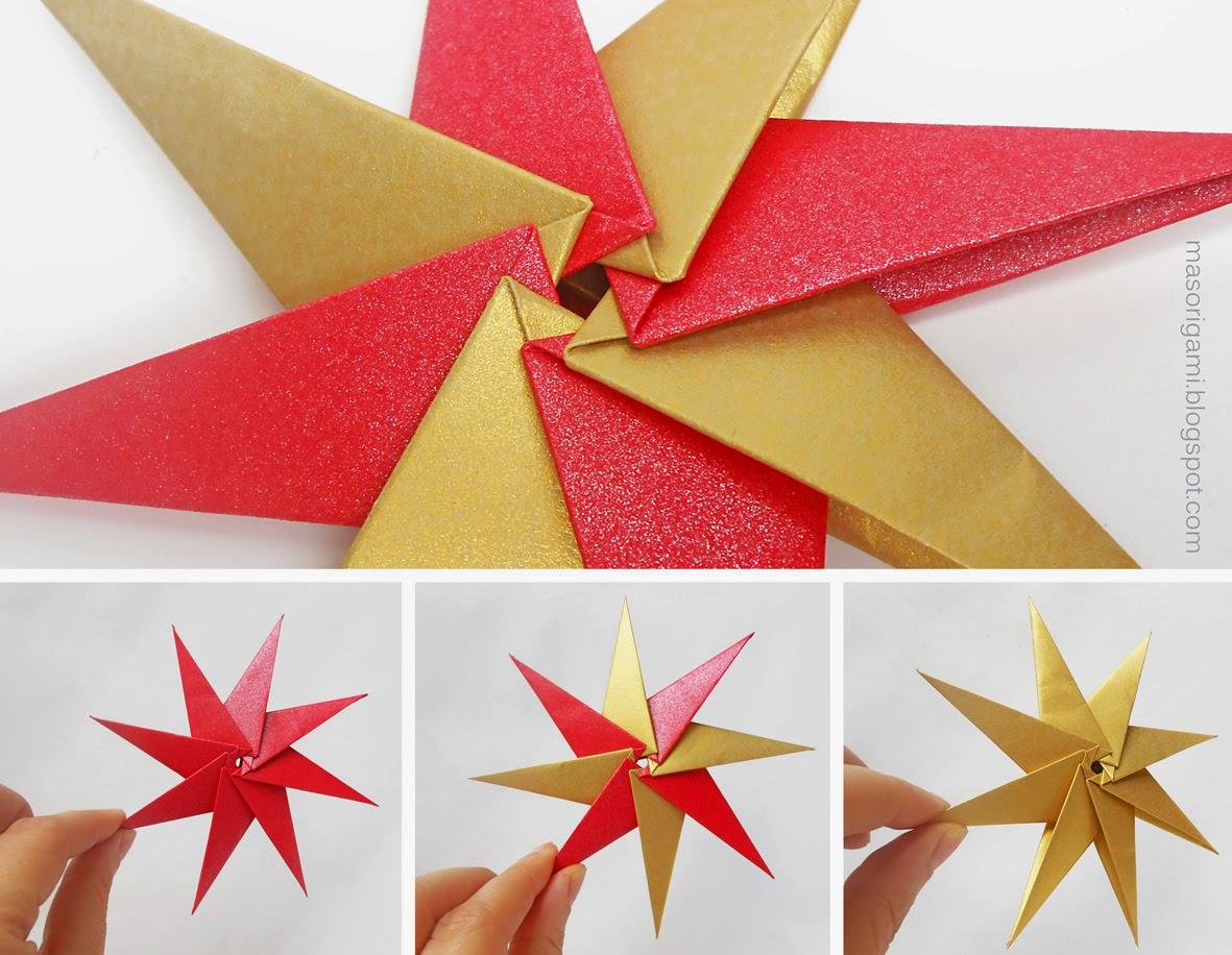 Mas origami diciembre 2014 - Origami de una estrella ...